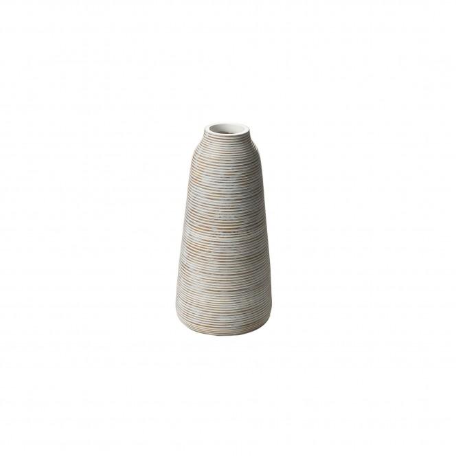 Jinsha-DekoVase-Weiss-16x16x32,5-per