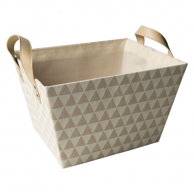 BasketDots-Korb-Beige-25x32x20-per