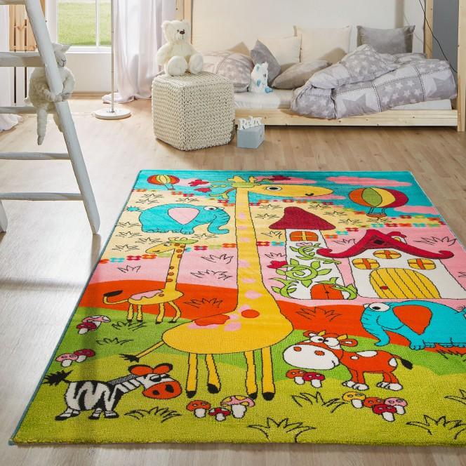 Minka-KinderTeppich-mehrfarbig-Multicolor-150x225-mil