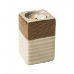 Ningbo-Teelichthalter-hellbraun-BraunWeiss-7x7x10-per