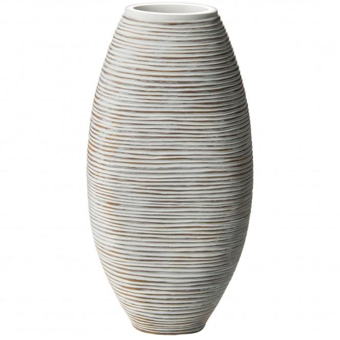 Jialing-DekoVase-Grau-10x22x45-per