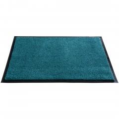 Pleasent-Fussmatte-blau-Petrol-60x90-per