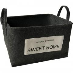 SweetHome-Korb-Dunkelgrau-30x38x22-per