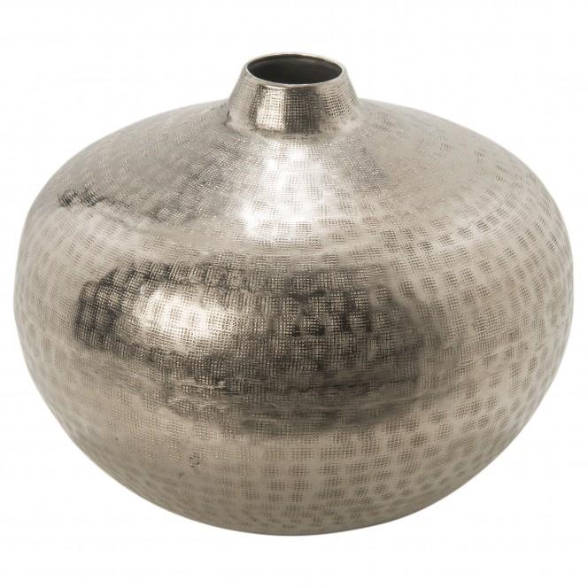 SilverNet-DekoVase-Silber-24x27-per