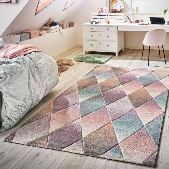 Harlekin-Designerteppich-mehrfarbig-Multicolor-160x230-mil