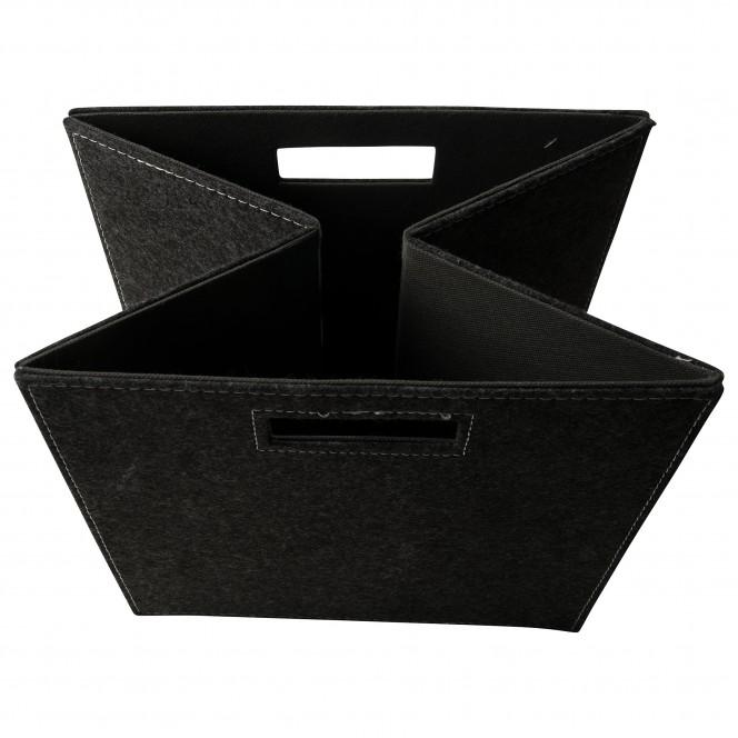 Faltbox-Korb-Dunkelgrau-32x32x32-lup1