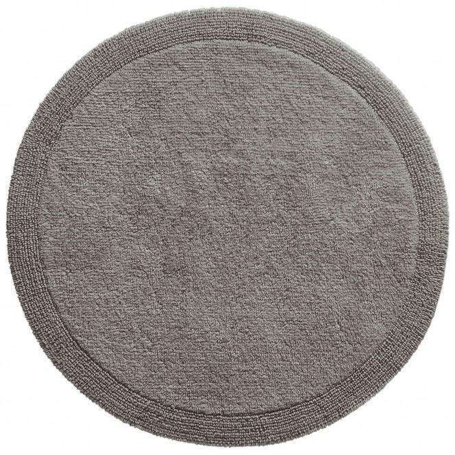 Bodega-Badteppich-grau-Titan-90rund-pla