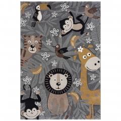 Junglebook-KinderTeppich-Grau-160x230-pla