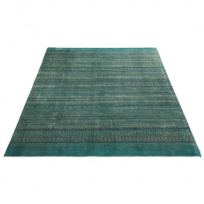 Besima-GabbehTeppich-gruen-Turquoise-200x300-fper