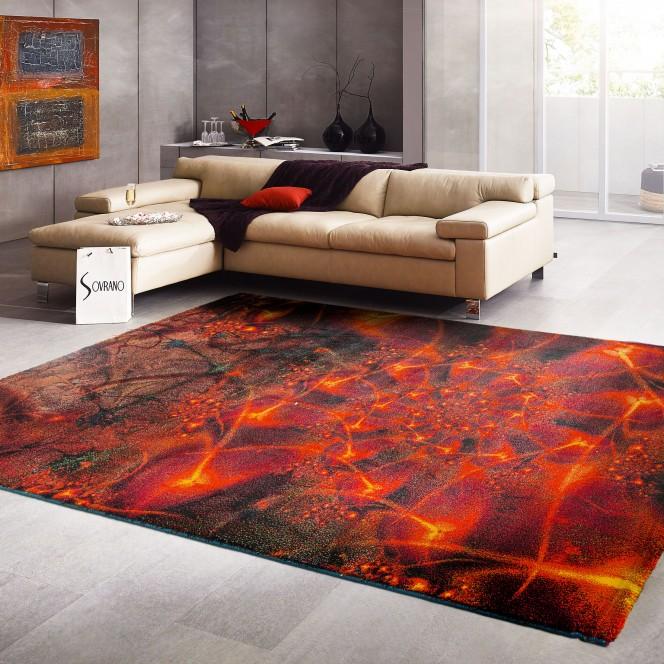 Universe-DesignerTeppich-rot-Multicolor-150x225-mil
