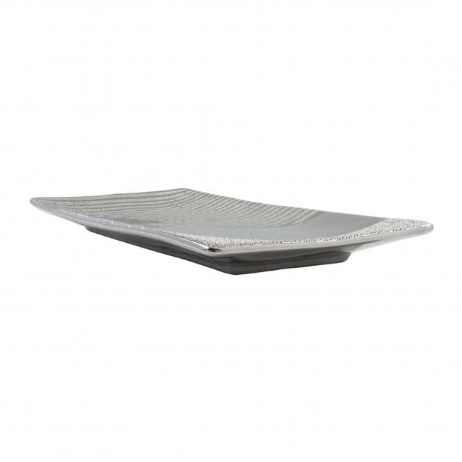 Hainan-DekoSchale-Silber-14x31x2,5-per2