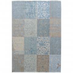 VintageCollage-VintageTeppich-blau-Dunkelblau-170x240-pla