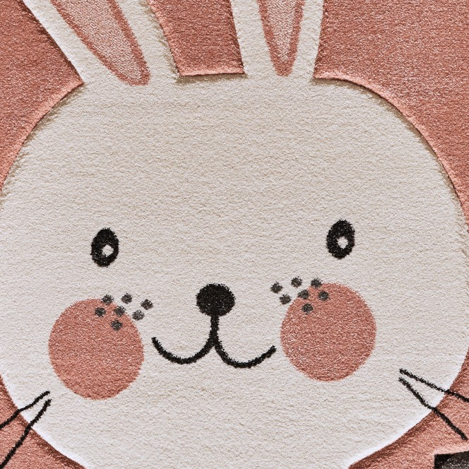 Friendship-Kinderteppich-Rosa-160x230-lup