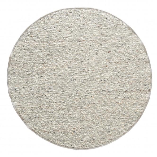 Lenggris-HandwebTeppich-beige-rund-pla