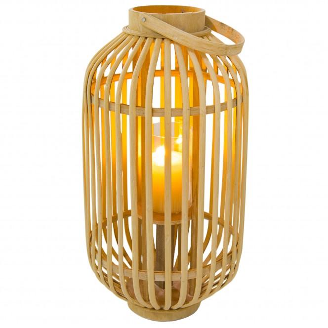 BambuslichtBenny-Laterne-beige-Hellbeige-25x25x48-per2