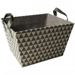 BasketDots-Korb-Dunkelgrau-28x35x22-per