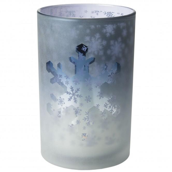 Lilly-Teelichthalter-Blau-12x12x18-per