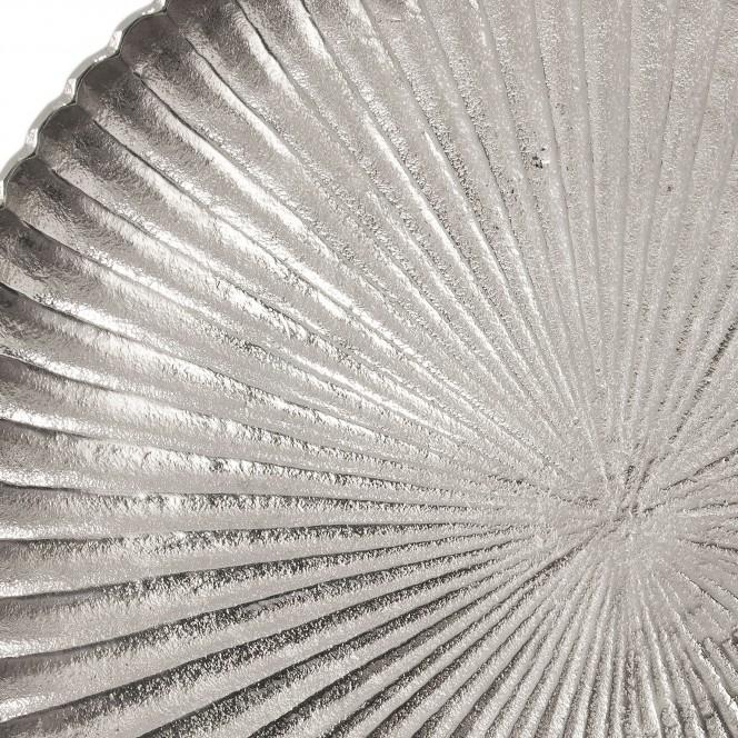 Decoplate-Schale-Silber-38x38x11-lup