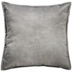 Escala-Sofakissen-grau-Silber-45x45-pla