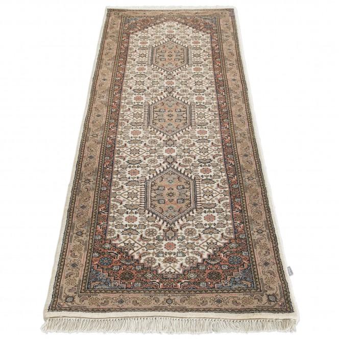 RawaraBidjar-Orientteppich-Beige-80x250-fper