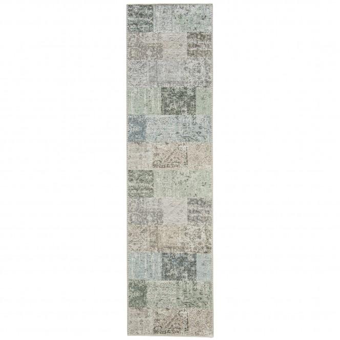 Doncaster-VintageTeppich-grau-Hellgrau-80x300-pla