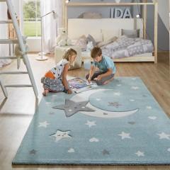NewMoon-Kinderteppich-Blau-160x230-mil