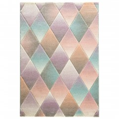 Harlekin-Designerteppich-mehrfarbig-Multicolor-160x230-pla