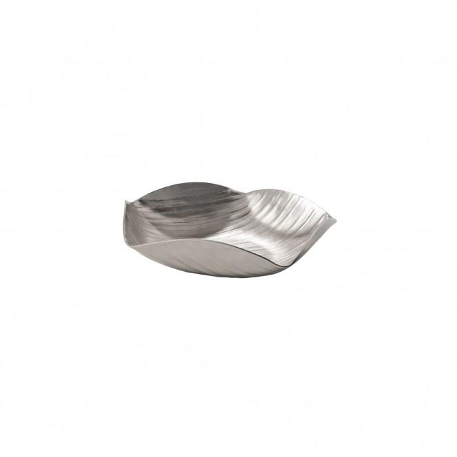 PolygonBowl-DekoSchale-Silber-23x23x5,5-per