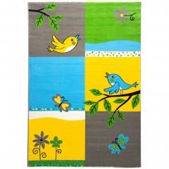 Cosby-Kinderteppich-Mehrfarbig-Multicolor-160x230-pla