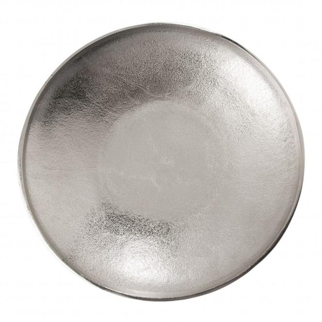 ClassicBowl-DekoSchale-Silber-32x32x5,5-pla