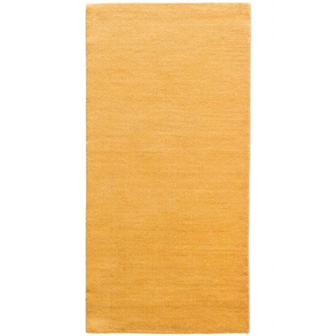 Riano-WollTeppich-Orange-Mango-70x140-pla