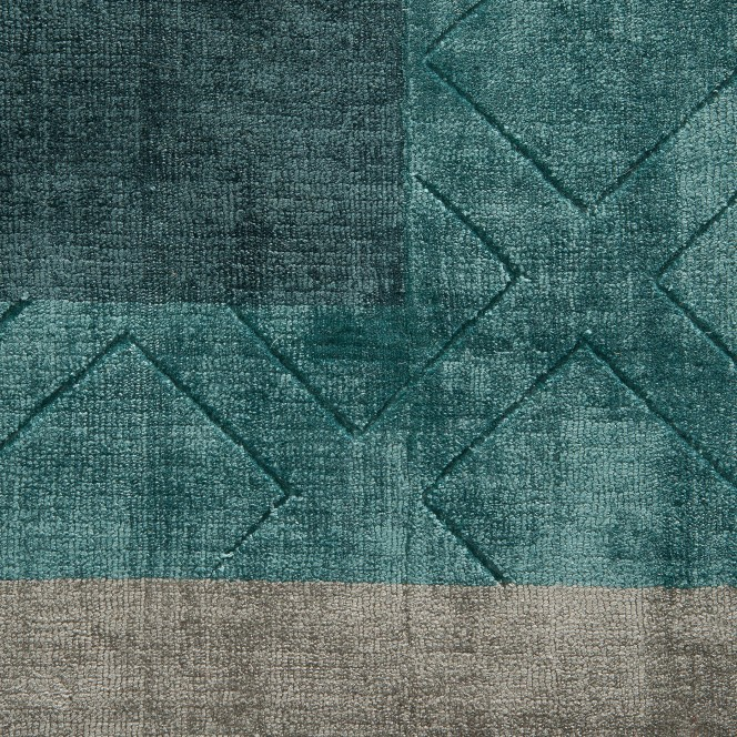 Fleurance-DesignerTeppich-Gruen-Turquoise-200x300-lup