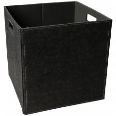 Faltbox-Korb-Dunkelgrau-32x32x32-per