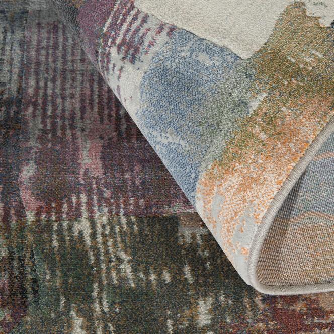 Colonema-DesignerTeppich-mehrfarbig-Multicolor-wel