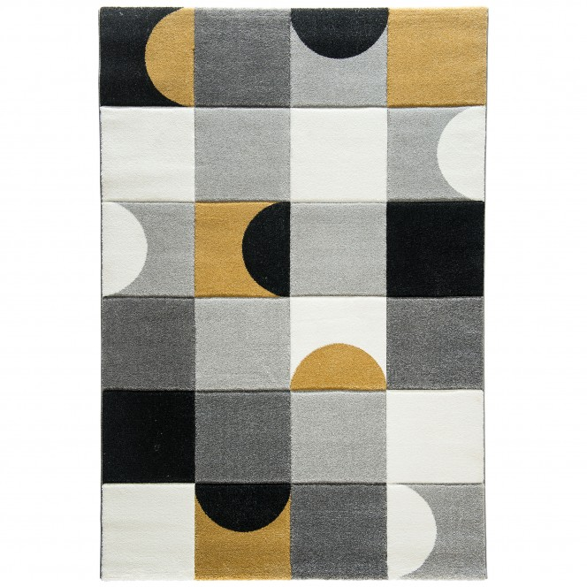 Nouvelle-Designerteppich-mehrfarbig-Gold-160x230-pla