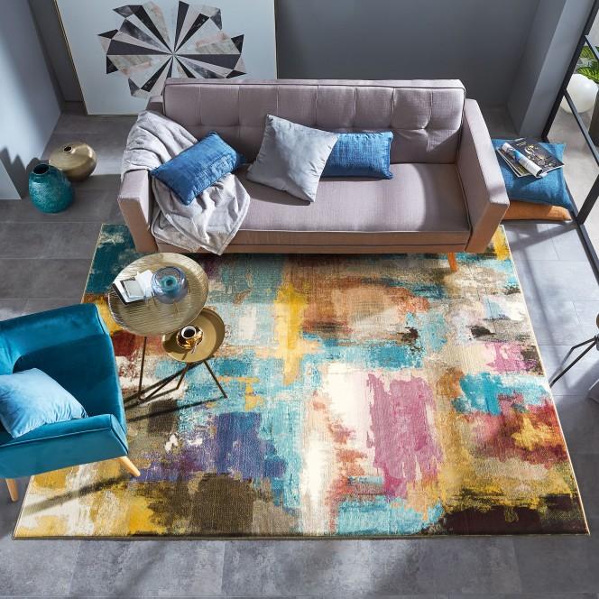 Azure-DesignerTeppich-mehrfarbig-Multicolor-160x230-mil