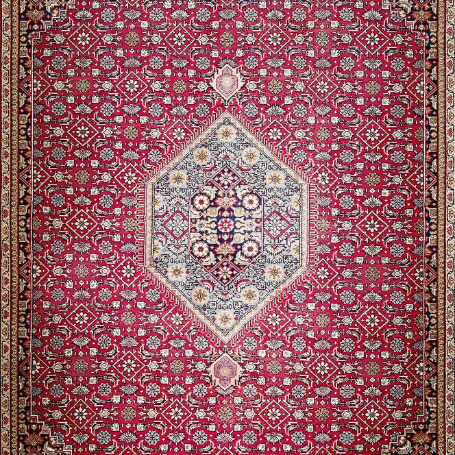 RawaraBidjar-Orientteppich-Rot-Red-lup