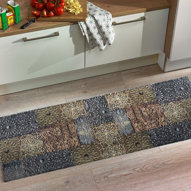 KitchenPlus-Fußmatte-grau-braun-TinTilebeige-50x150-mil