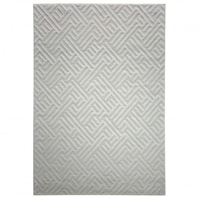 Ariadne-DesignerTeppich-hellgrau-Silber-170x240-pla