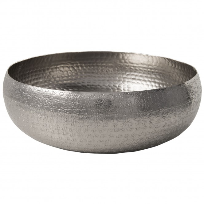Convex-DekoSchale-Silber-34x34x11-per