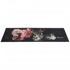 KitchenPlus-Fussmatte-Mehrfarbig-ClassicFlower-50x150-per