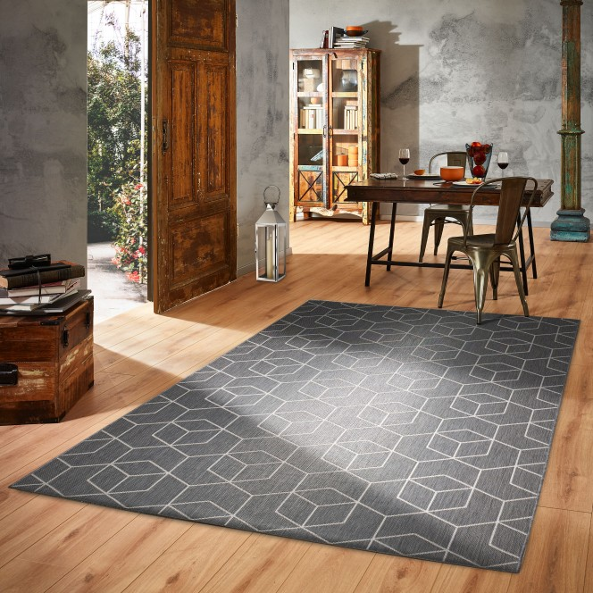 Dimension-moderner-Teppich-silber-mil