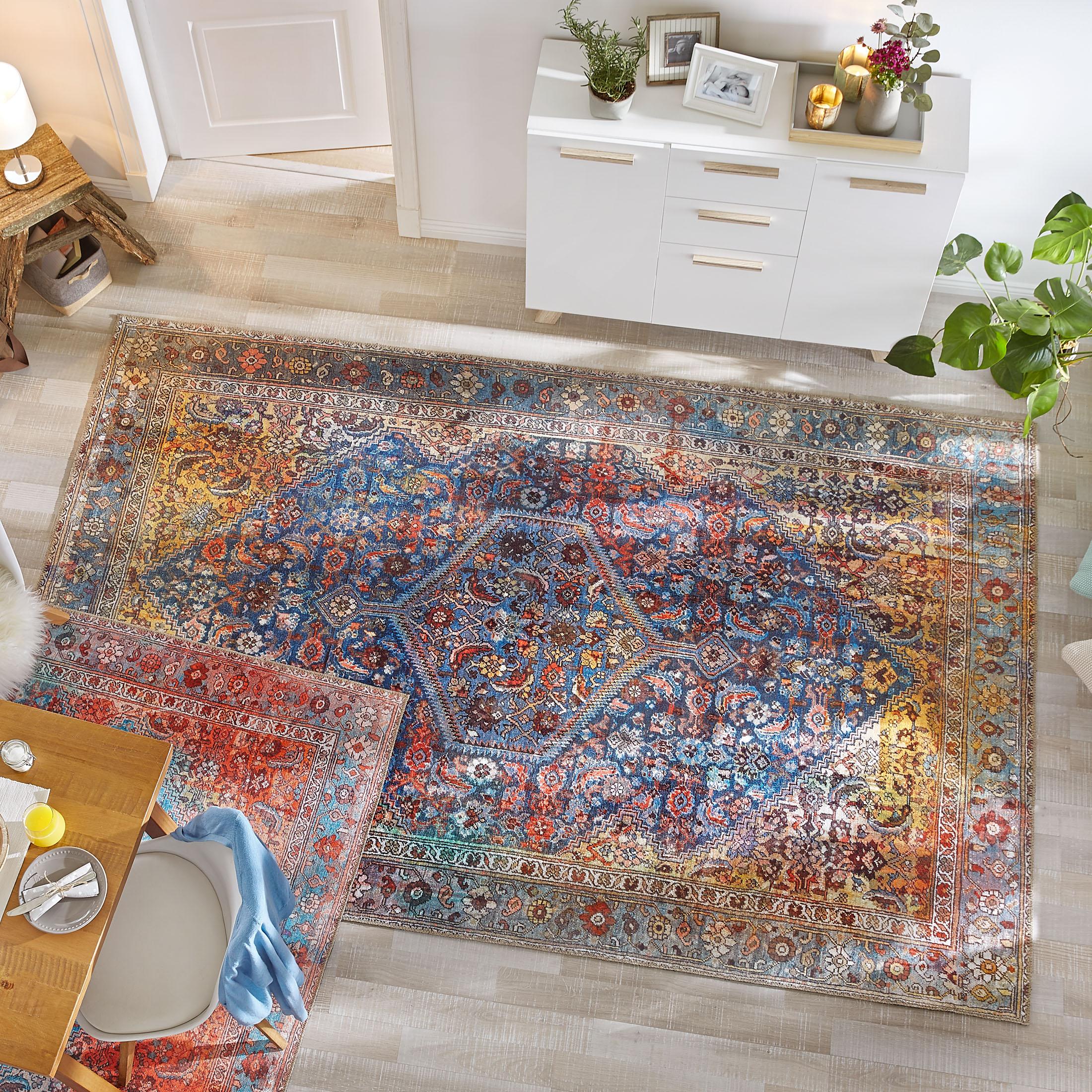 Ravine Vintage Teppich Von Kibek In Multicolor