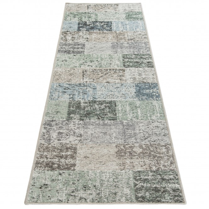 Doncaster-VintageTeppich-grau-Hellgrau-80x300-fper