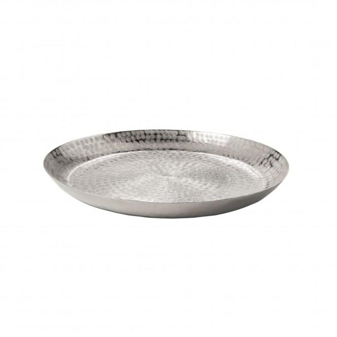 RoundPlatter-DekoSchale-Silber-40x40x5-per
