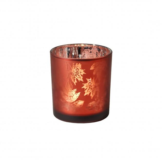 BordeauxLeaves-Windlicht-rot-Bordeaux-7cm-per
