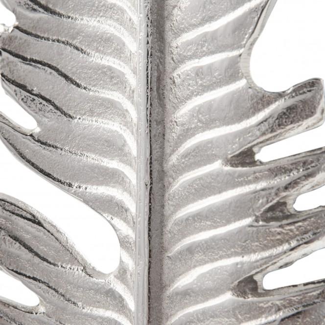 LeafSculpture-Objekt-Silber-10x11x56-lup2