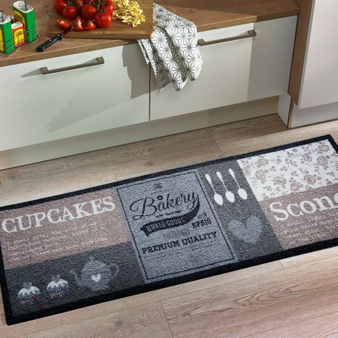 KitchenPlus-Fussmatte-braun-cupcake-50x150-mil