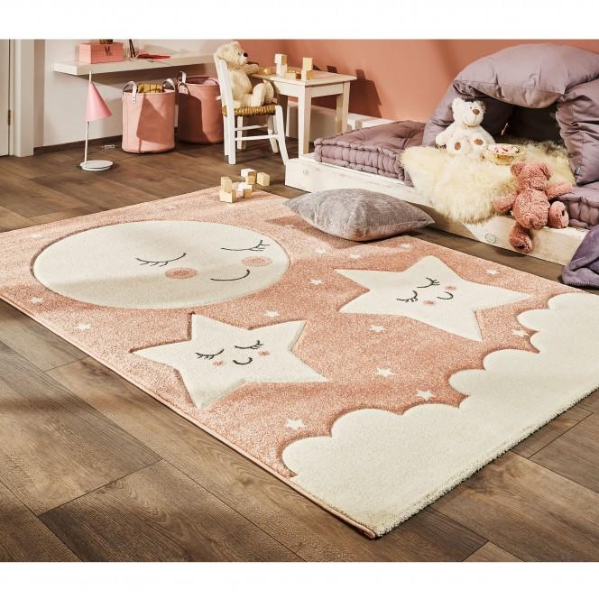 Lullaby-KinderTeppich-Rosa-160x230-mil2