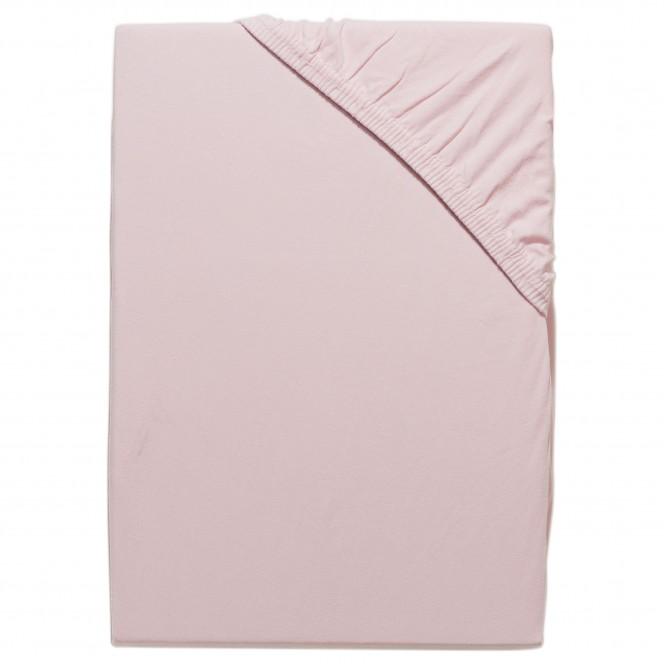 LaPlaza-Spannbetttuch-Rosa-Rose-100x200-pla